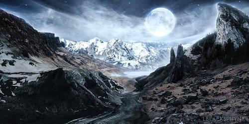 Foggy Planet by lblacksphynx