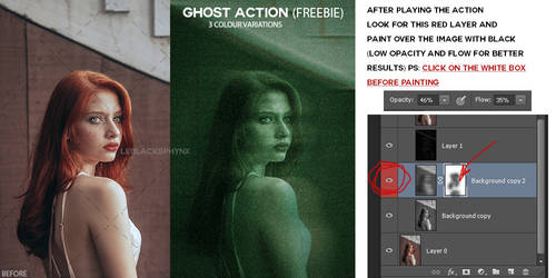 FREE Ghost Action - leblacksphynx