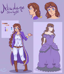 Aliadane Starlyght- Commission by Anime-Tenshi22