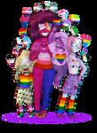 Pride Month Crystal Gems!! (Happy Pride Month!)