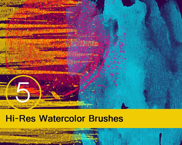 Pinkstorm's Watercolor Brushes