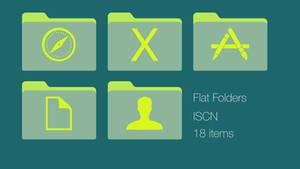 Light Yellow Green ISCN Folders