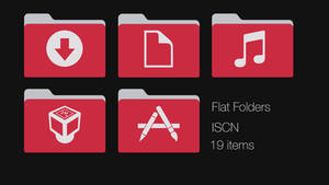 Iscn Red-grey Folders