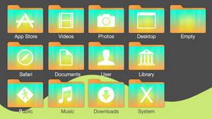 Orange Gradient Folder