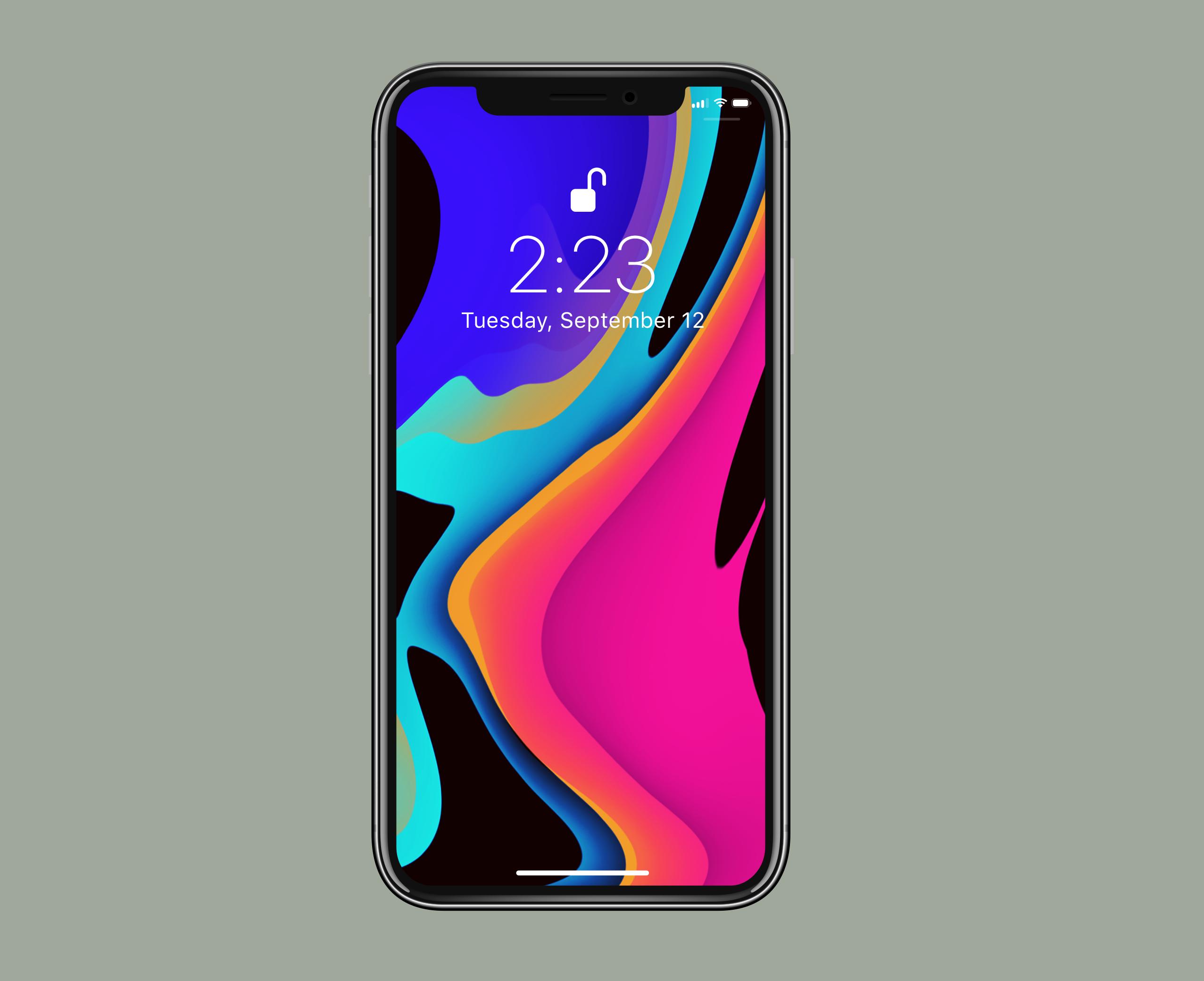 Wallpaper Iphone Xs 4k Os 20235: IPhone XS/Max Wallpaper By Janosch500 On DeviantArt