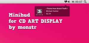 Minihud for CD Art Display