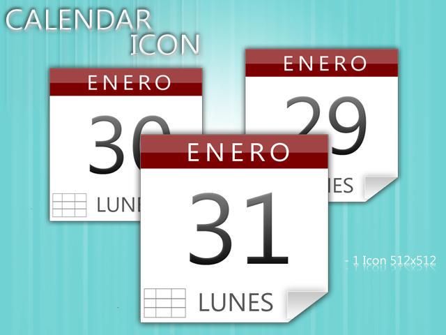 Calendar icon by Jaaffo