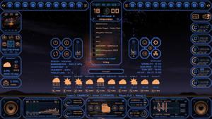 Auto System HUD Tech fantasy new version