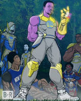 Steph Thanos and the Gold Order by jtchan