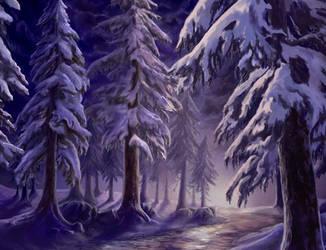The Winter Sun - Work Progress by AlmieLiandri