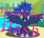 Princess Luna petting simulator