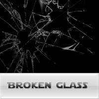 broken glass brushes by reven94