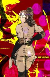 Nemion - Bait - Poster by JennerCarnelian