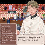 Welcome to Bangtan Cafe ! by Glukoko