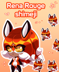 Shimeji Rena Rouge
