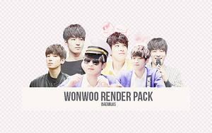 Wonwoo Render Pack by baemilks