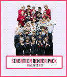 SEVENTEEN Render Pack