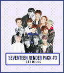 SEVENTEEN Render Pack #3