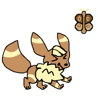 [PkmnRQ] Daily Prompt - Butterfly [eevee]