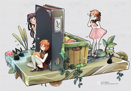 Magic shelf