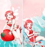 190820 // Love Live! Maki Summer Phone Wallpapers