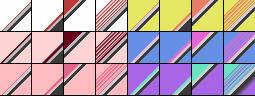 Fibonacci Set 57 Gradients