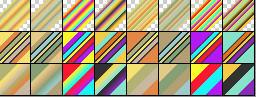 Fibonacci Gradients Set 67