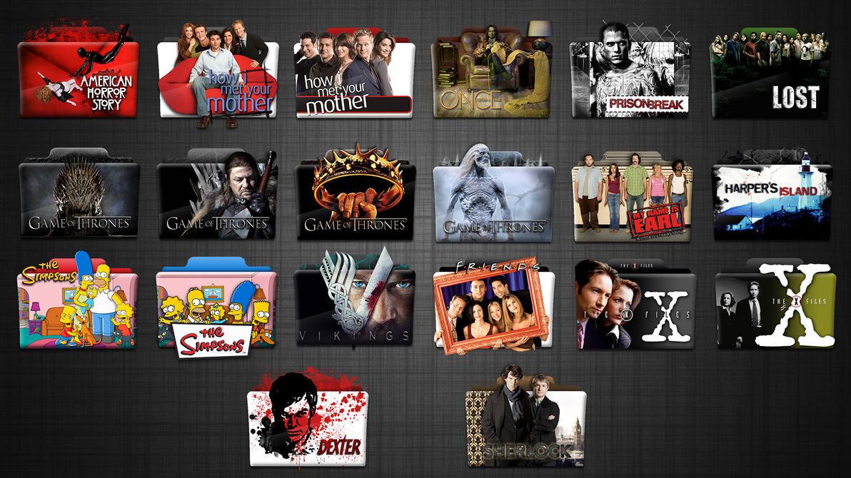 Tv Series Folder Icons Hd 512x512 By Stavrosvran On Deviantart