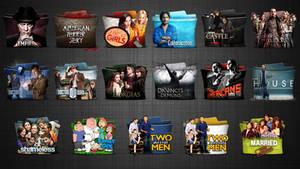TV Series Folder icons Pack 5 HD
