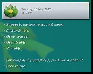 GoatNote [ Desktop Note ]