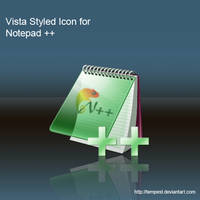 Vista Style Icon for Notepad++