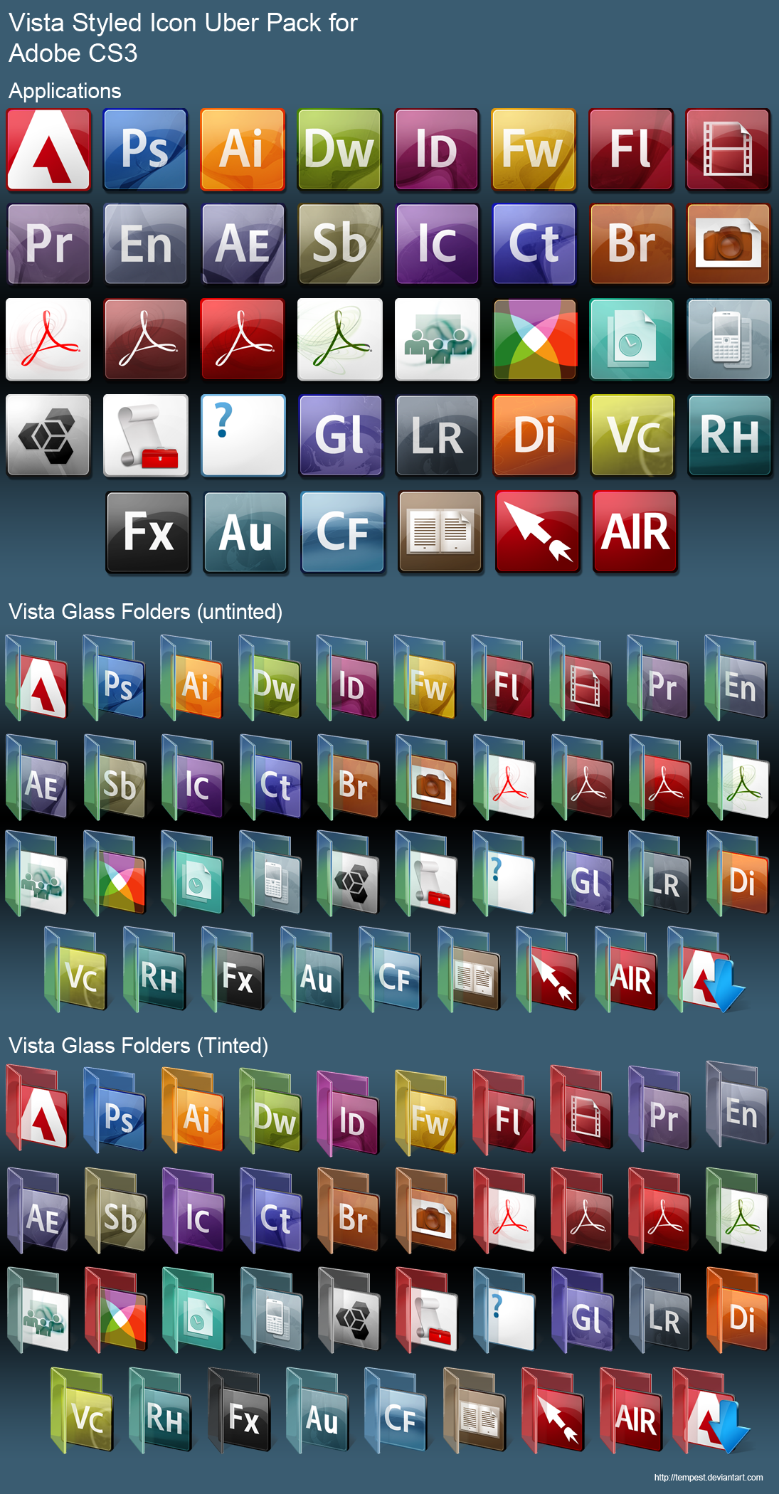 Adobe Vista Uber Collection by ChadJackson