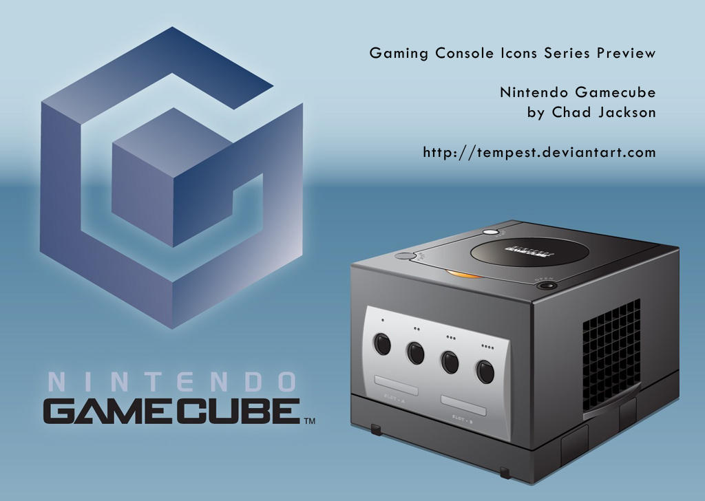 Nintendo GameCube Icon by ChadJackson