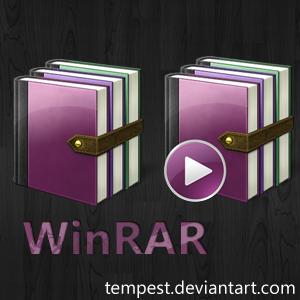 WinRAR Dark Zen Theme by ChadJackson