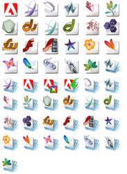 Adobe Products and Vista Folders by ChadJackson
