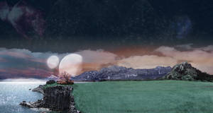AlienScape Version 1 by ChadJackson