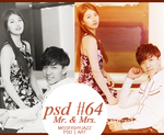 PSD #64 Mr. and Mrs. [missfishyjazz] by MissFishyJazz