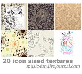 20 icon sized textures