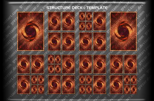 Structure Decklist Template