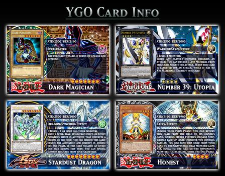 YGO Card Info Template