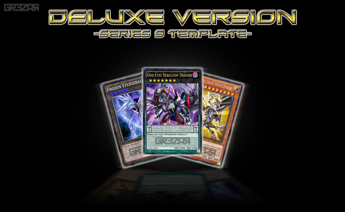 Series 9 Card Proxy Template - Deluxe Version by grezar ...