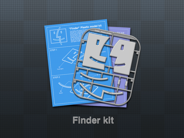 Finder kit 1 - icon by wakaba556