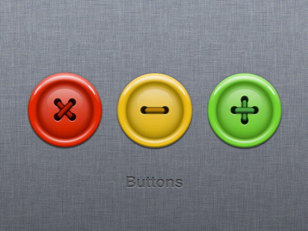 Button icons