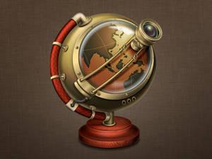 Steampunk - Web Browser icon