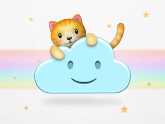 Neko-Cloud icon 2 by wakaba556