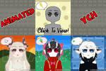 [YCH Animated] Blinking Headshots_Remake [Closed]