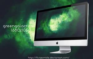 Green galactica by f1rstZomb1e