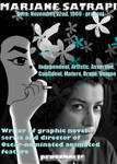 Tribute Poster: Marjane Satrapi by TheEmily1220