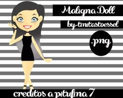 Maligna Doll by By-TiniTaStoessel