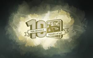 deviantART 10th Birthday Walls by endosage